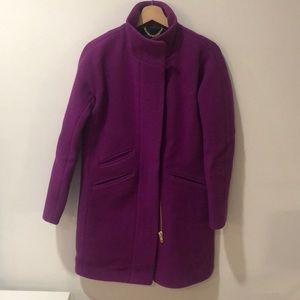 Jcrew stadium cloth coat